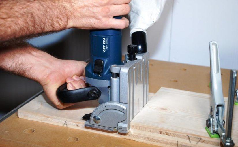 Flachdübelfräse Anleitung Teil 2: die Holzverbindung herstellen