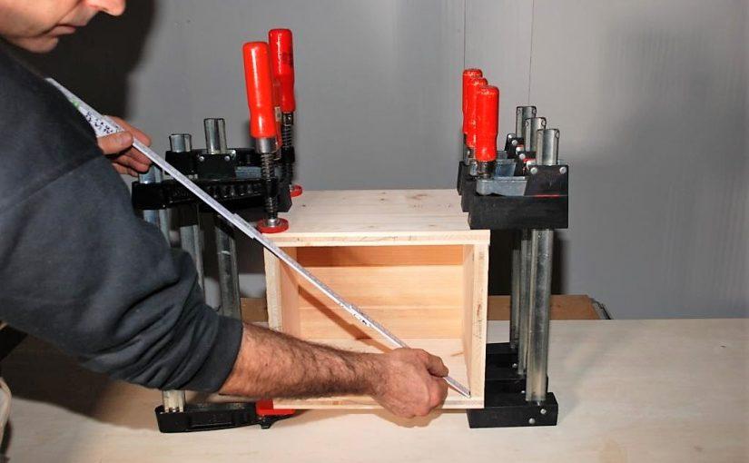 Flachdübelfräse Anleitung Teil 3: Verleimen der Holzverbindung