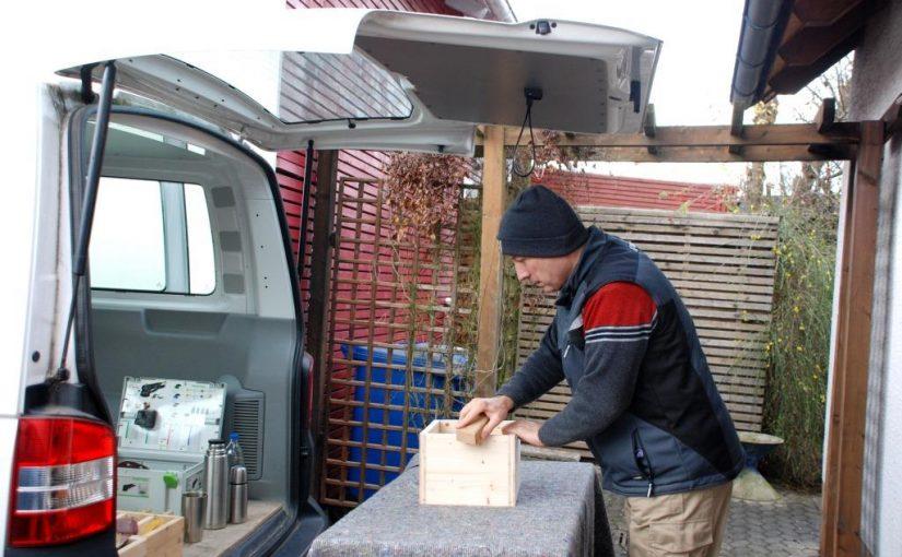 Ein Holzprojekt im Freien richtig planen und durchführen