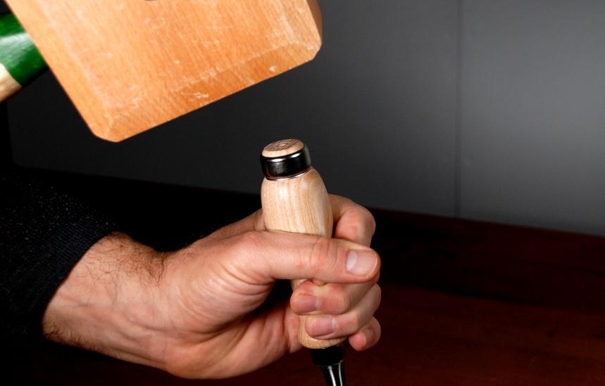 Holzhammer europäisches Stemmeisen